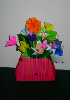 A Purse Bouquet for young girl