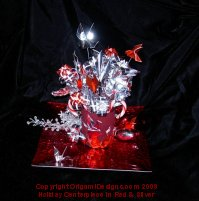 C Christmas Centerpiece