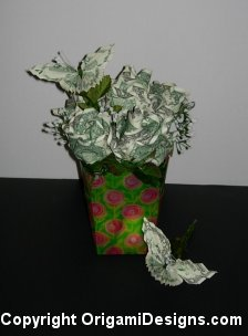 A lovely money bouquet