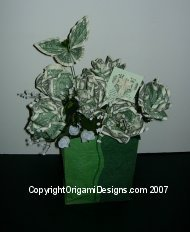 A perfect presentation of Money Bouquet